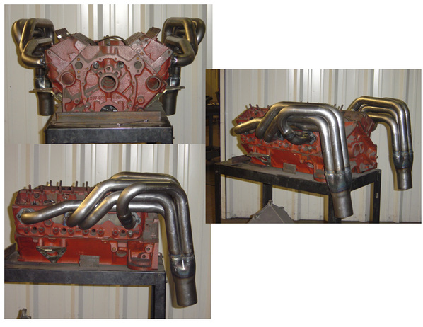 Chevy Street Stock Headers - Schoenfeld Headers